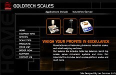 A Flash website design for Goldtech Scales. an informational flash website with small intro to showcase their products. Preview Website Website Home Page Bookmark on Delicious Digg this post Recommend...