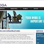 A website home page design for Omega. The brief was to create a design with professional look and feel and puts focus on product and services. Website Home Page Bookmark...