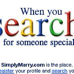 A banner ad campaign for SimplyMarry.com. The Main design is inspired by Google search engine design, as google is the best to search anything and like this SimplyMarry.com is best...