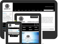 Responsive, user experience design solution for a music album portal.