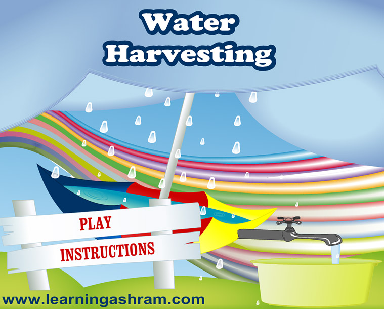 Water Harvesting Illustration